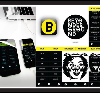 Beyonderground – Event app